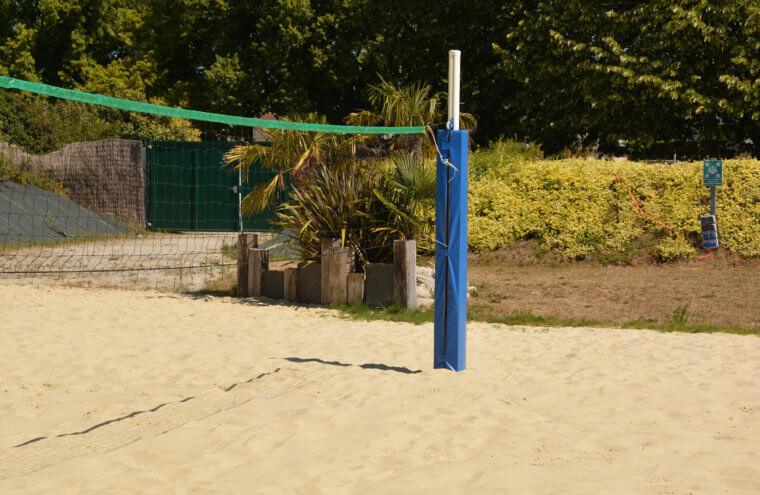 plage les pieds dans le sable